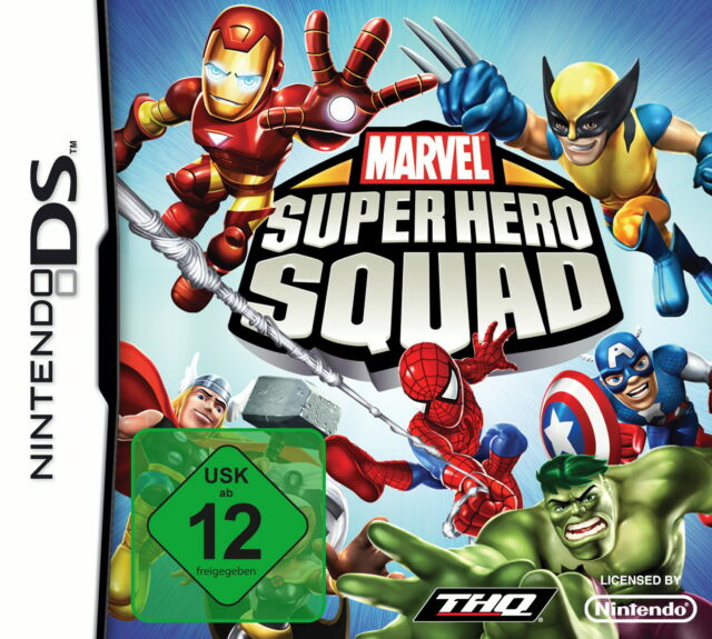 NDS Spiel - Mervel Super Hero Squad