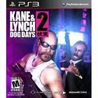 Kane & Lynch 2: Dog Days -- Limited Edition (Sony PlayStation 3, 2010)
