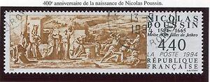 TIMBRE-FRANCE-OBLITERE-N-2896-NICOLAS-POUSSIN