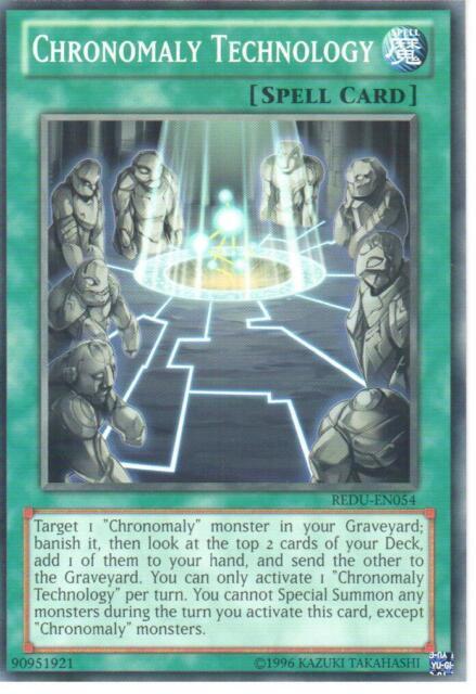 YU-GI-OH CARD: CHRONOMALY TECHNOLOGY - REDU-EN054