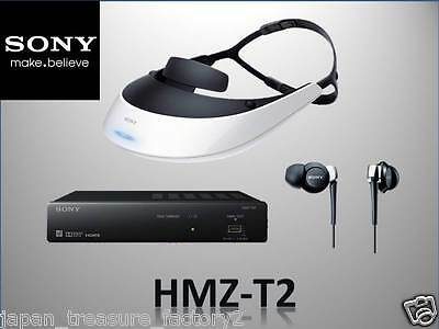 "Sony Head Mounted Display ""Personal 3D Viewer"" SONY HMZ-T2 3D, import from Japan"