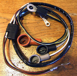 c18 1967 ford mercury cougar 289 alternator wiring harness wo amp meter. Black Bedroom Furniture Sets. Home Design Ideas