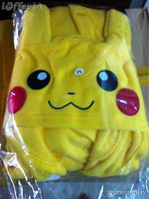 Pokemon GO pikachu outfit,pajamas cosplay costume Pyjamas onesie adult romper