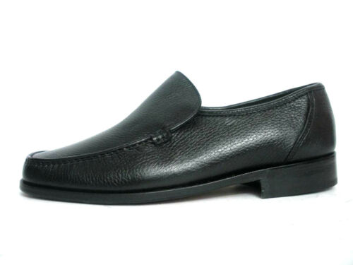 In Uomo Melluso Made Italy U4200g Comodi Scarpe Shoes Mocassini Nero Colore FP8qwZw