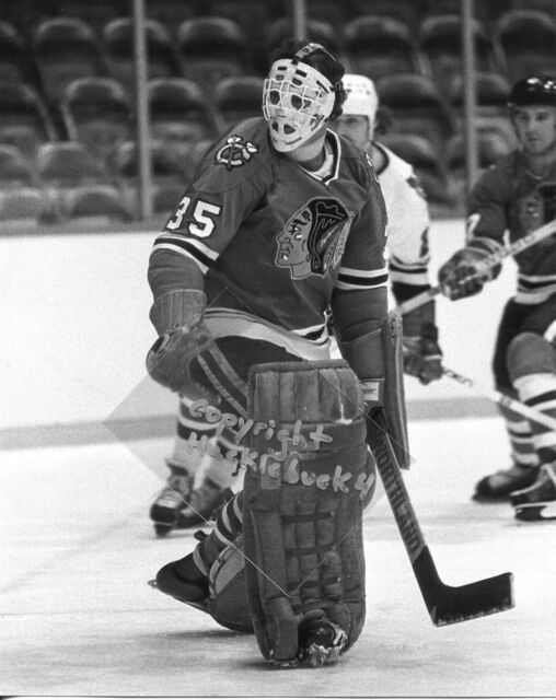 TONY ESPOSITO Chicago Blackhawks Photo HOF #1 (c)