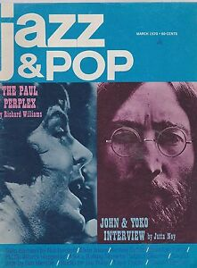 MARCH-1970-JAZZ-POP-music-magazine-BEATLES-PAUL-MCCARTNEY-JOHN-LENNON