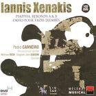 Iannis Xenakis - : Psappha; Rebonds A & B; Okho pour trois djembés [DualDisc] (2005)