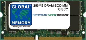 256MB-DRAM-SODIMM-MEMOIRE-RAM-POUR-CISCO-1841-ROUTEUR-MEM1841-256D