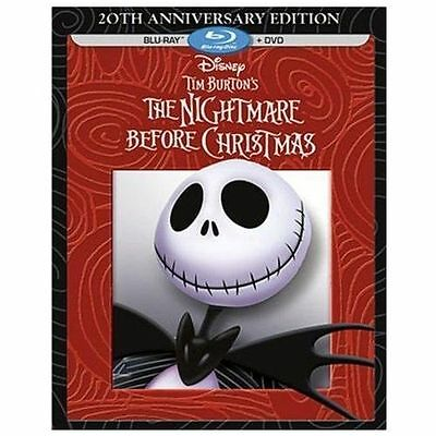 Tim Burton's The Nightmare Before Christmas [20th Anniver Blu-ray Region A