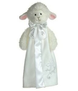 Aurora-Baby-12-Plush-Blessings-Blanket-LAMB-BLANKIE-NEW