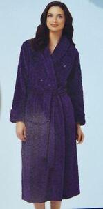 NEW-CAROLE-HOCHMAN-Plush-SOFT-Polyester-Fleece-Wrap-Robe-Many-Sizes-amp-Colors-85