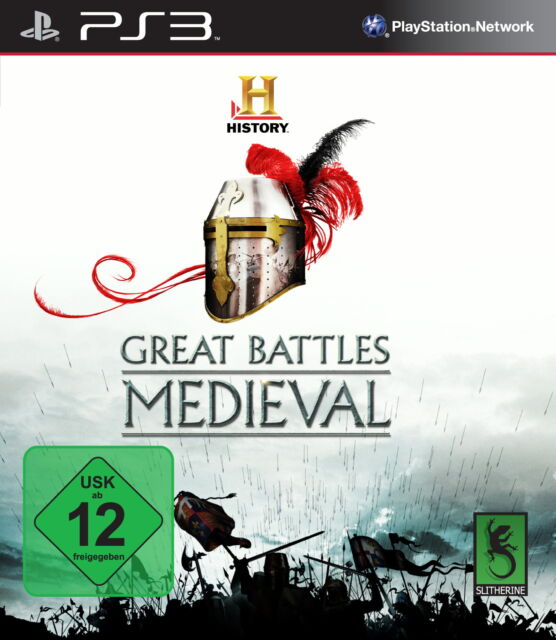 The History Channel  Great Battles Medieval Sony PlayStation 3, 2010