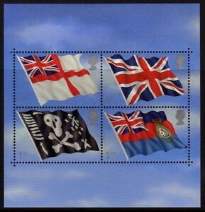 GB 2001 13th MINIATURE SHEET  ROYAL NAVY FLAGS  MNH - Leigh-on-Sea, United Kingdom - Returns accepted Most purchases from business sellers are protected by the Consumer Contract Regulations 2013 which give you the right to cancel the purchase within 14 days after the day you receive the item. Find out more a - Leigh-on-Sea, United Kingdom