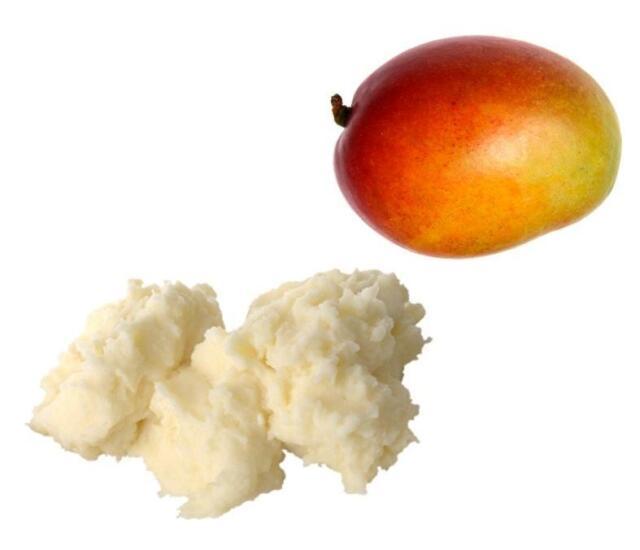 8oz Natural Pure Mango Butter Organic Raw Unrefined ½ lb. Treats Dry Skin & More