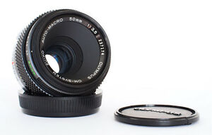 OLYMPUS ZUIKO 50mm 35 MACRO FOR OM  MINT - <span itemprop=availableAtOrFrom>Worthing, West Sussex, United Kingdom</span> - UK Buyers: Any item found to differ substantially from the listing can be returned within 7 days subject to prior agreement Most purchases from business sellers are protecte - Worthing, West Sussex, United Kingdom