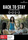Back To Stay (DVD, 2013)