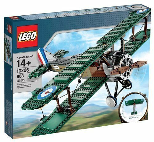 100/% TO CHARITY LEGO 10226 Sopwith Camel Airplane; Brand New /& Sealed