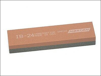 India IB24 Bench Stone 100mm x 25mm x 12mm - Combination