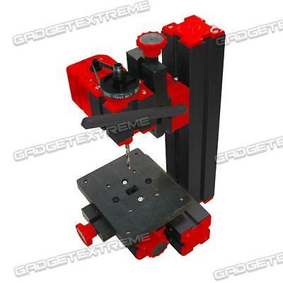 6 in 1 Motorized Mini CNC Machine Jig-saw Grinder Driller Metal Lathe GE