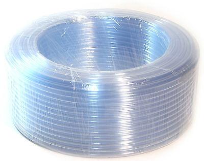 100Ft 30 M PVC Clear Hose Tubing Pipe-Flexible Plastic Aquarium Water Delivery