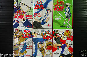 JAPAN-novel-Prince-of-Tennis-vol-1-6-Complete-set
