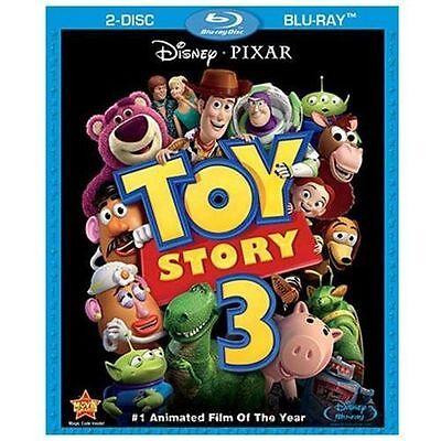 Toy Story 3 (Blu-ray Disc, NO DVD, 2010)