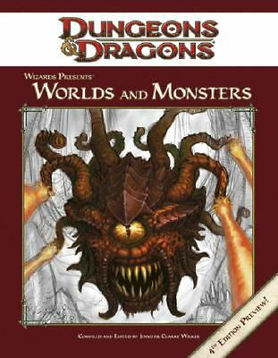 Dungeons & Dragons: Wizards Presents Worlds and Monsters