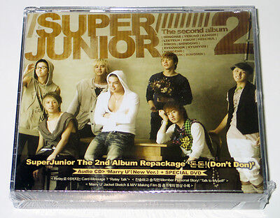 Super Junior - DON'T DON (Vol.2 REPACKAGE CD+DVD Version) CD+Poster+Mini Photo