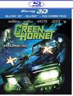 The Green Hornet (Blu-ray/DVD, 2011, 3-Disc Set, 3D/2D)