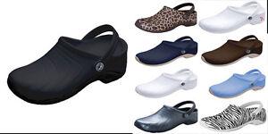 NWT-Anywear-ZONE-Unisex-SLIP-RESISTANT-Slip-On-Clog-Nurse-Shoes-5-14