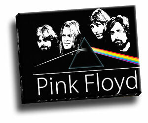 Pink Floyd Dark Side Of The Moon Music Album Collage Giclee Canvas Picture Art