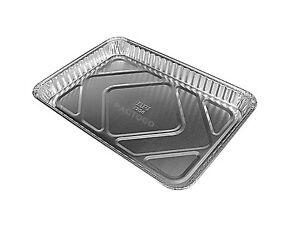 1/4 Size Sheet Cake Aluminum Foil Pan 25/PK - (Disposable Quarter Size Trays)