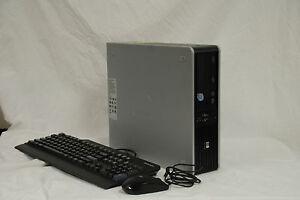 HP-dc7900SFF-Intel-Pentium-Dual-2-40GHz-2GB-RAM-400GB-HD-Windows7-Desktop