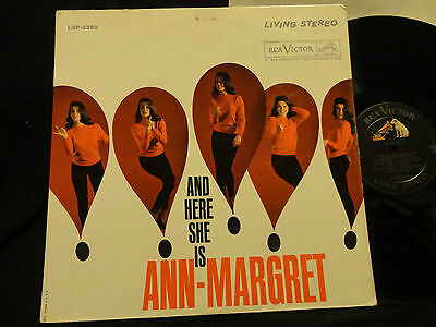 ANN MARGRET / AND HERE SHE IS RCA  LIVING STEREO LSP-2399