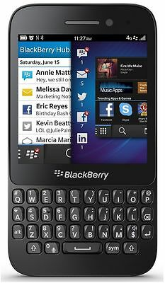 Brand New BlackBerry Q5 - 8GB - Black (Unlocked) Smartphone GSM LTE and AWS BB10
