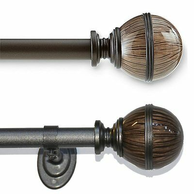Dacks Curtain Rod - Three Sizes - Two Colors
