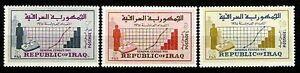 IRAK IRAQ IRAQI STAMPS 1965 GENERAL CENSUS SC# 390 -92 Full Set MNH