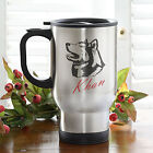 Personalized Stainless Steel Dog Breed Travel Mug (Personalization Mall)