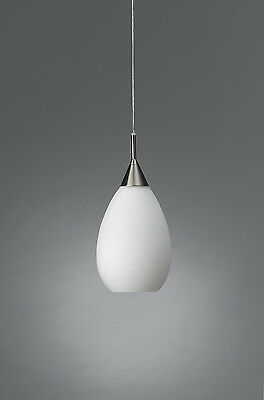 Stylish Single Ceiling Pendant With White Glass By Philips -Tulip Glass Pendant