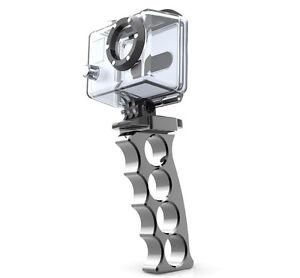 Pistol-grip-handle-amp-mount-for-GoPro-HD-Hero-camera-CNC-Aluminium