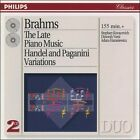 Johannes Brahms - Brahms: The Late Piano Music; Handel and Paganini Variations (1995)