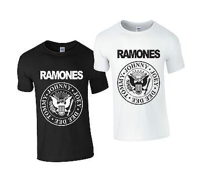 Ramones American Punk Rock Band Music Tour Biker T-shirt RAM ALL SIZES & COLOURS