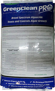 Green Clean Pro Pond Algaecide Fish Safe Great For Patio Cleaning 50 Lbs Ebay