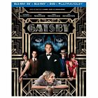 The Great Gatsby (Blu-ray Disc, 2013, 2-Disc Set, Includes Digital Copy UltraViolet 3D)