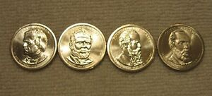 2011-D-PRESIDENTIAL-DOLLARS-COINS-All-4-COINS