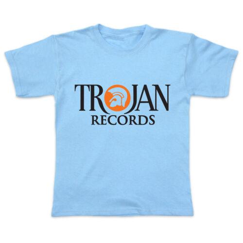 0-3yrs Baby // Toddler T-Shirt TROJAN RECORDS - ska reggae roots dub