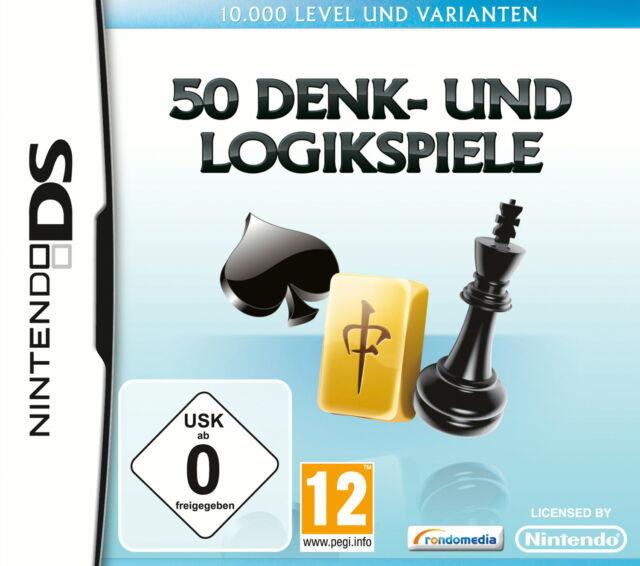 50 Denk- und Logikspiele DS -- Pyramide Software (Nintendo DS, 2010)