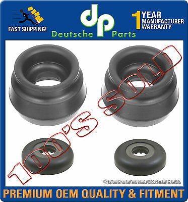 VW AUDI FRONT STRUT SHOCK MOUNT MOUNTS BEARING L+R 1J0412331C + 1J0412249 SET 4