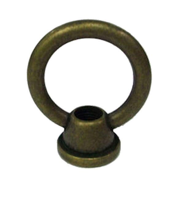 """6 TV-712 Antique Brass Loop, 3 TG-21 Nipple 1 3/4"""", 6 TV-19 Hex Nuts"""