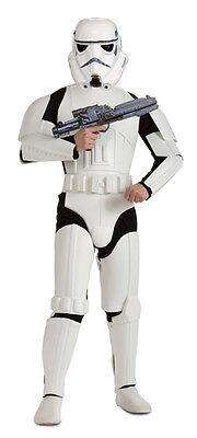 Stormtrooper Star Wars Adult Deluxe Costume Halloween Jumpsuit Fancy Dress